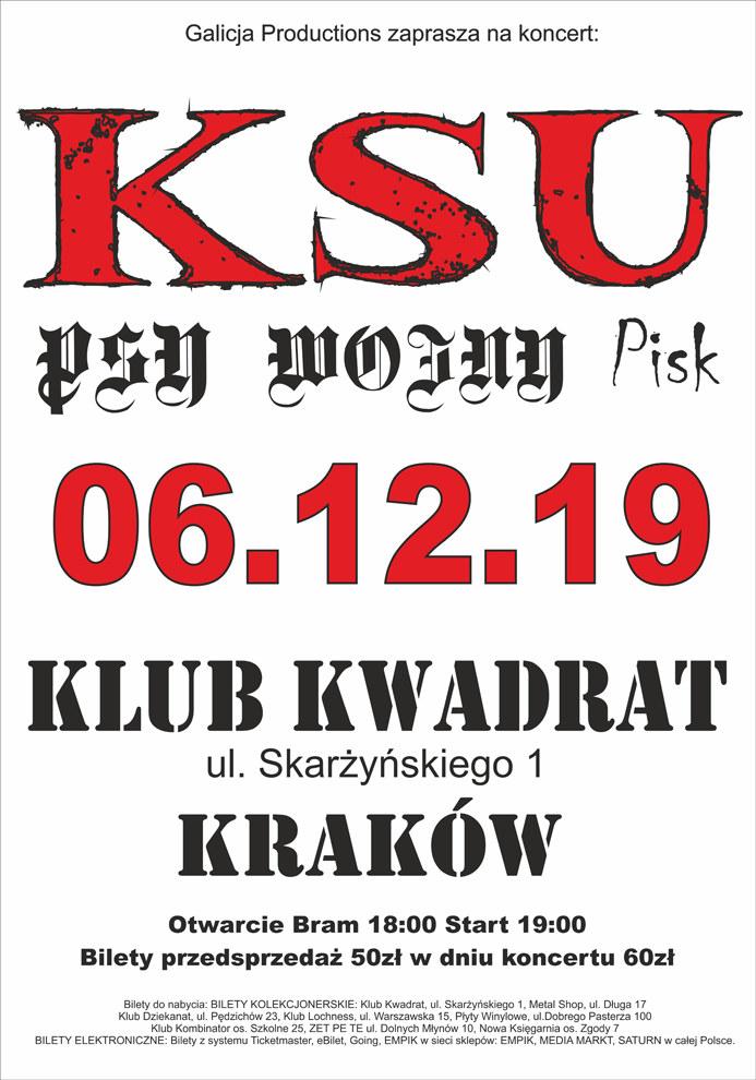 Krakowski Kwadrat stanie się przystankiem polskiego punk rocka /materiały prasowe