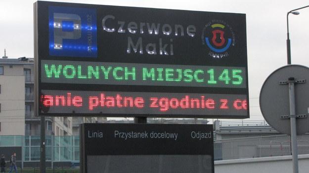 "Krakowski parking ""Park&Ride już płatny /Józef Polewka /RMF FM"