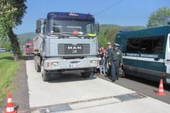 Krakowski punkt do ważenia ciężarówek