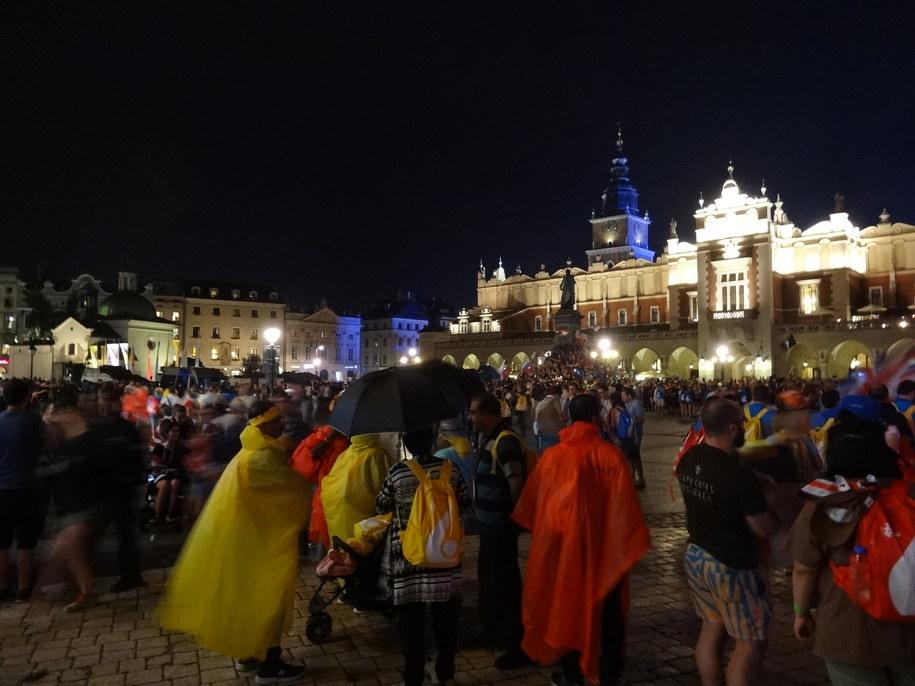 Krakowski Rynek 26 lipca 2016 /Grzegorz Jasiński /RMF FM