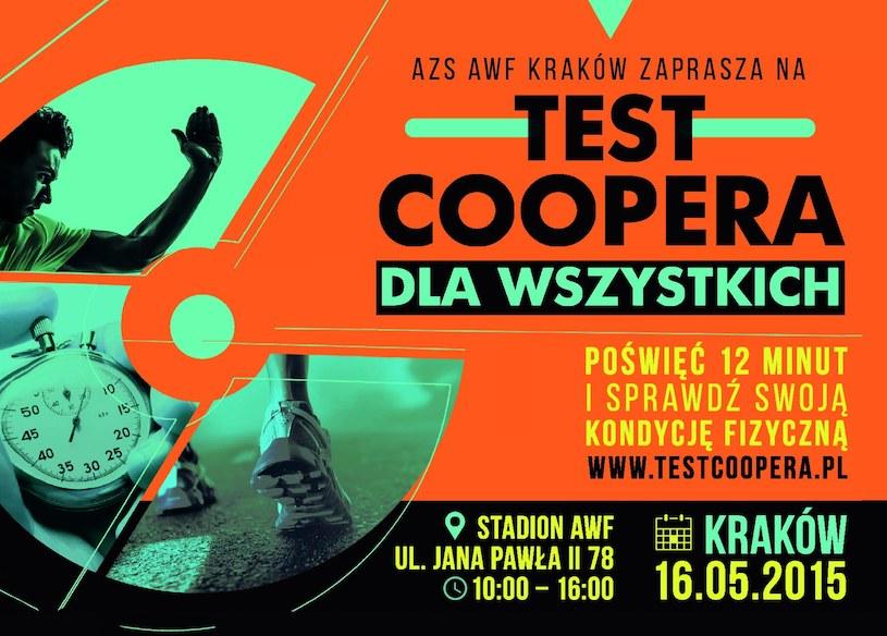 Krakowski Test Coopera dla wszystkich. /INTERIA.PL
