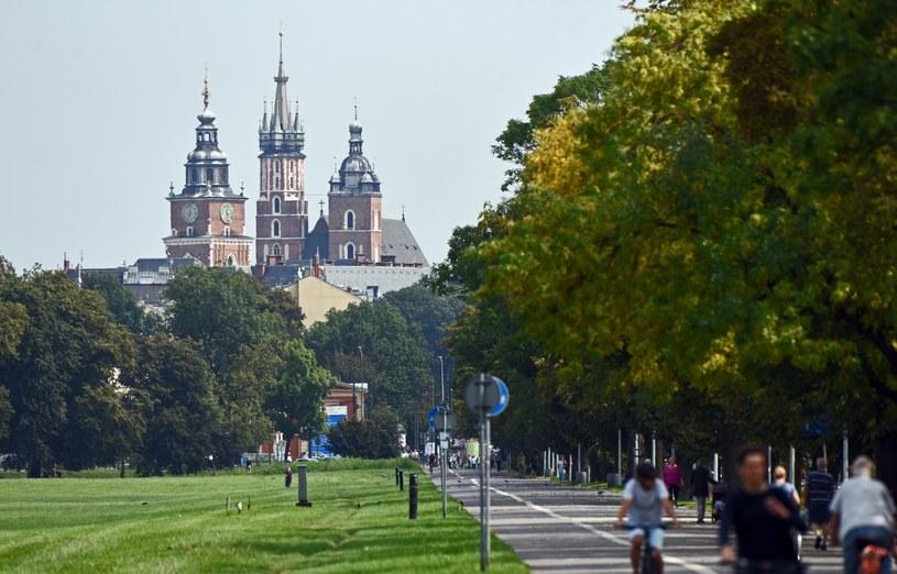 Krakowskie Błonia to 48-hektarowa łąka w centrum miasta /M.Lasyk /Reporter