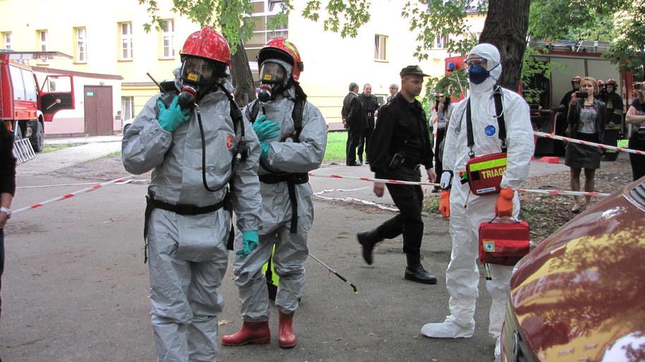 Krakowskie ćwiczenia na wypadek Eboli /Józef Polewka /RMF FM
