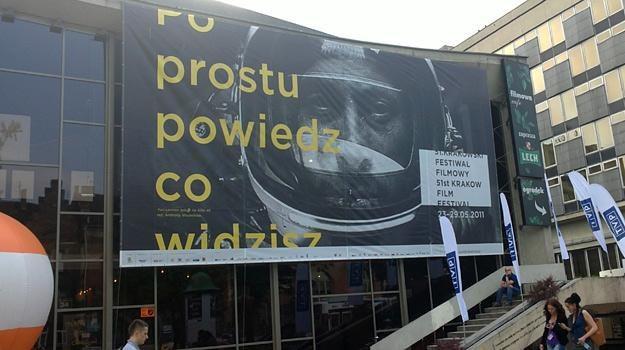 """Krakowskie kino """"Kijów. Centrum"""", w którym odbywa się corocznie festiwal /INTERIA.PL"""