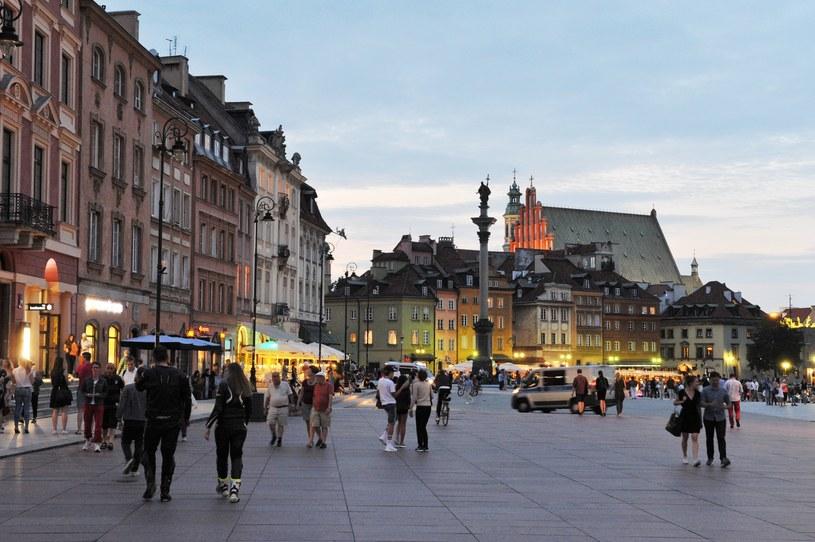 Krakowskie Przedmieście i Plac Zamkowy /Wojtek Laski /East News