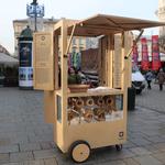 Krakowskie wózki do sprzedaży obwarzanków do poprawy. Powstaną nowe prototypy
