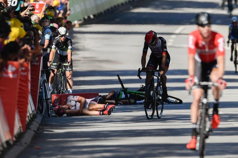Kraksa na finiszu Tour de France /AFP
