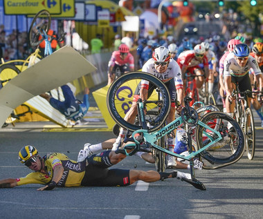 Kraksa na Tour de Pologne. Dylan Groenewegen zabrał głos