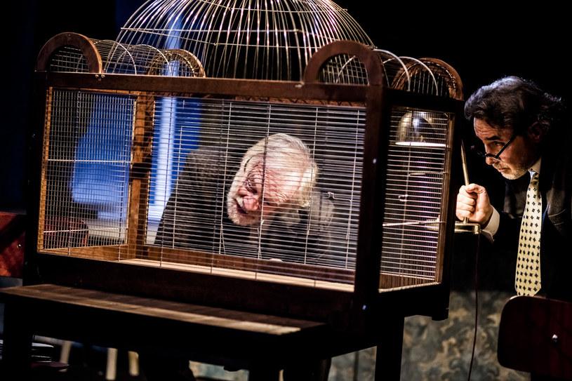 KRAPP i dwie inne jednoaktówki – premiera w Teatrze Polskim w Warszawie /materiały prasowe
