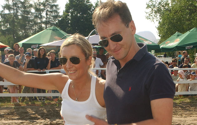 Kraśko z przyszłą żoną, fot. J.Stalęga  /MWMedia