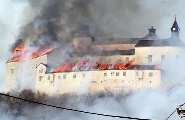 Krasna Horka w płomieniach /AFP