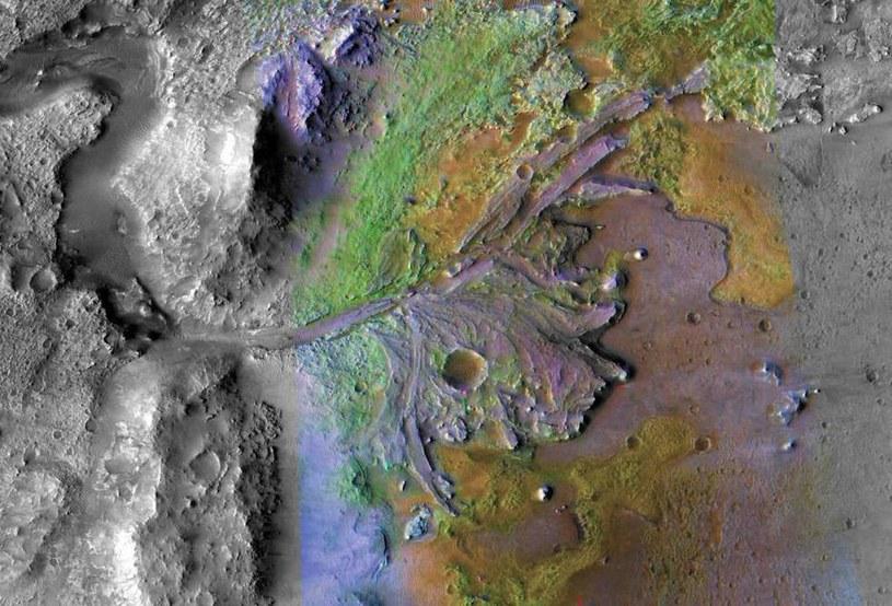 Krater Jezero /NASA