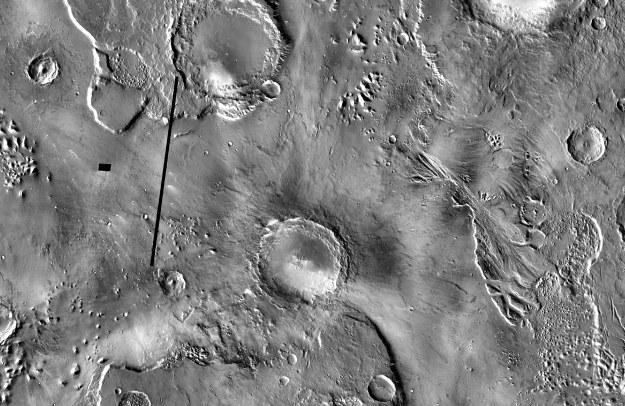 Krater Mojave /NASA