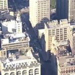 """""""Krater"""" na Manhattanie po wybuchu rurociągu ciepłowniczego. Zobacz film!"""
