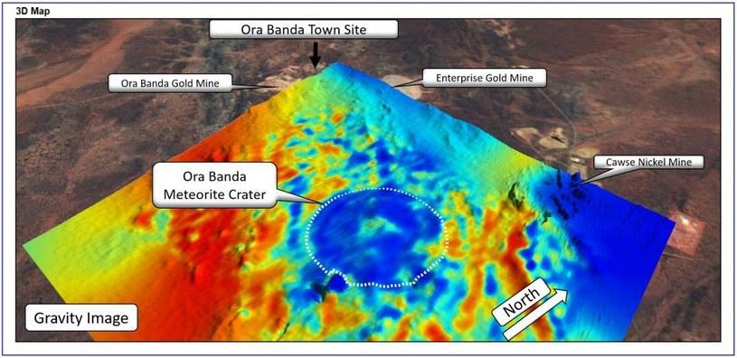 Krater Uderzeniowy Ora Banda /materiały prasowe