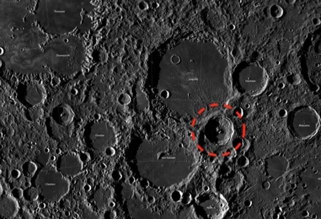 Krater, w którym zaobserwowano anomalię nie ma swojej nazwy /materiały prasowe