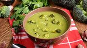 Krem brokułowy  z kalafiorem
