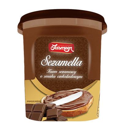 Krem czekoladowy Sezamella /materiały prasowe