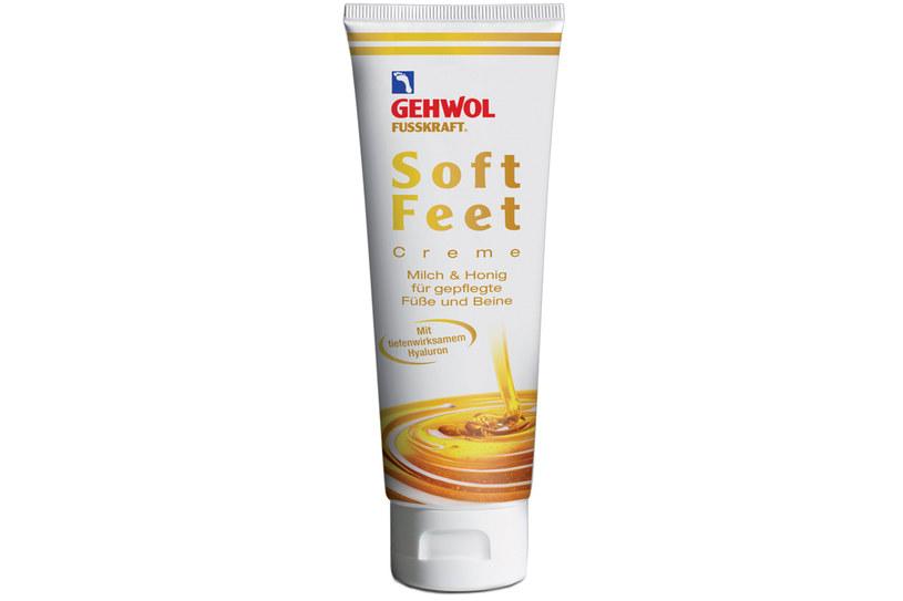 Krem do stóp Gehwol FUSSKRAFT Soft Feet /materiały prasowe