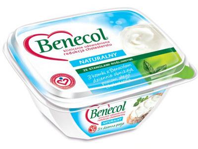 Krem kanapkowy Benecol o smaku naturalnym zawiera aż 55% twarożku  /materiały prasowe