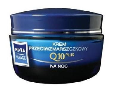 Krem na noc Q10 Plus NIVEA VISAGE /materiały prasowe