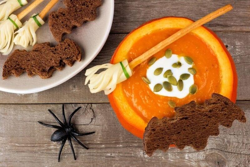 Krem z dyni na Halloween /materiały prasowe