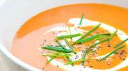 Krem z marchewki i pomarańczy - w 45 minut