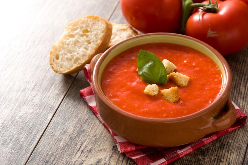 Krem z pomidorów /123RF/PICSEL