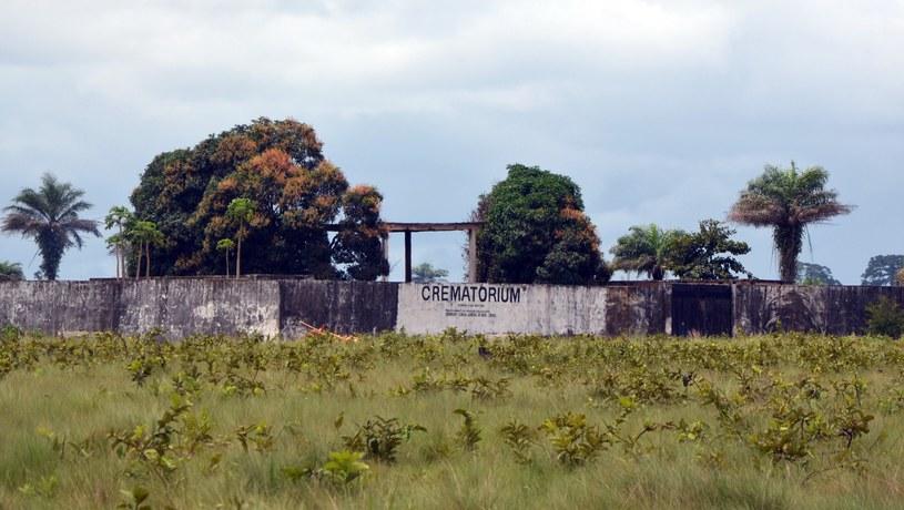 Krematorium w Liberii /AFP