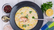 Kremowa zupa pachnąca wędzonką