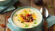 Kremowa zupa z boczkiem