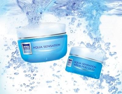 Kremy Aqua Sensation NIVEA VISAGE /materiały prasowe