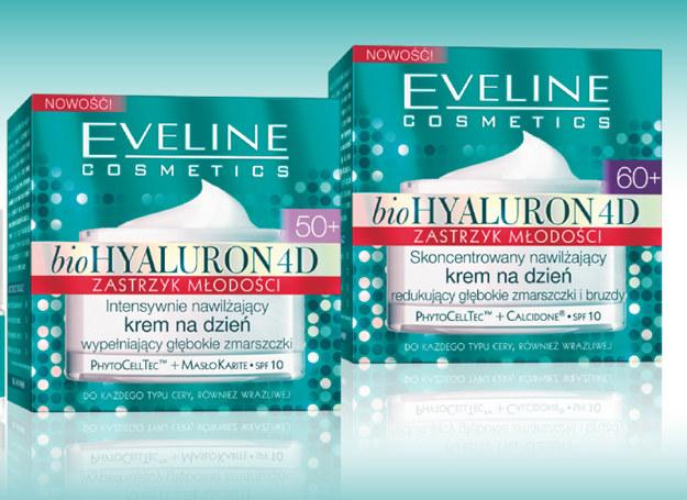 Kremy z serii bioHyaluron od Eveline /materiały prasowe