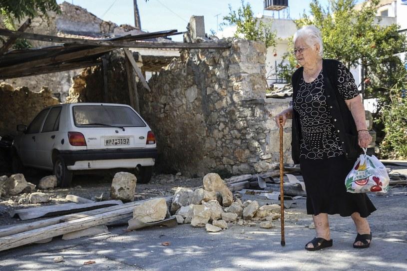 Kreta. Grecką wyspę nawiedziło trzęsienie ziemi /AFP