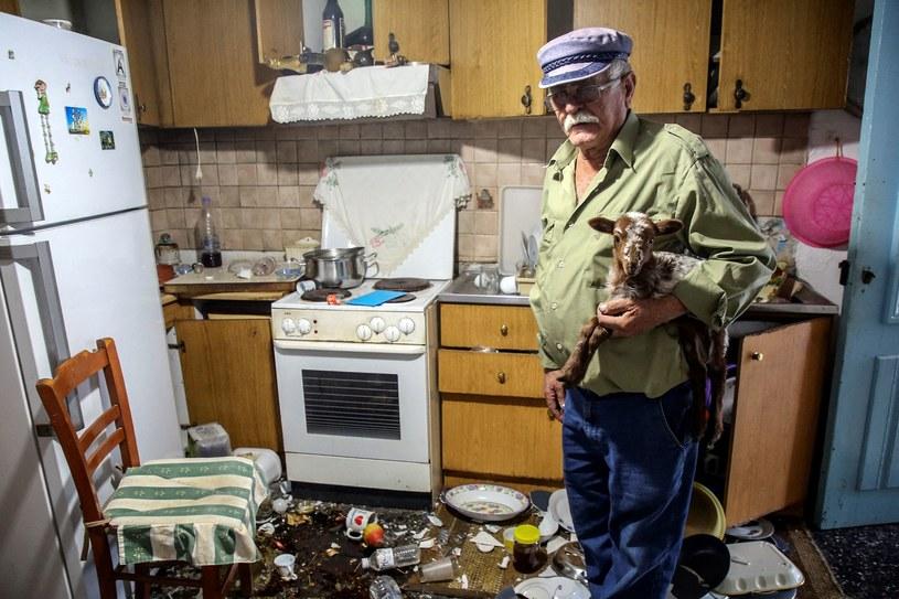 Kreta. Trzęsienie ziemi zniszczyło około tysiąca budynków. /AFP