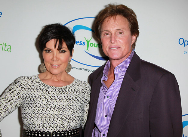 Kris Jenner i Bruce Jenner /Getty Images