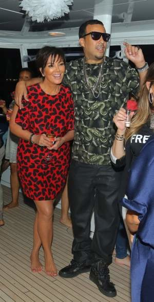 Kris Jenner i French Montana /Splash News /East News