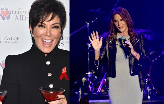 Kris Jenner nie widziała się jeszcze z Caitlyn! /Kevin Winter /Getty Images