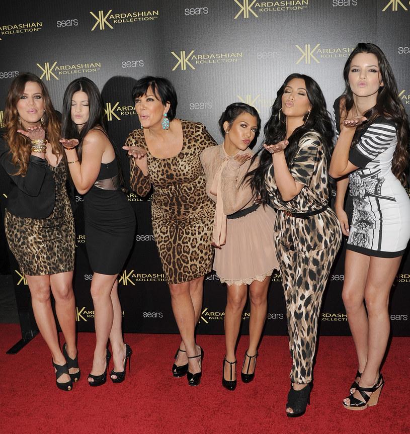 Kris Jenner z córkami /Jason Merritt /Getty Images