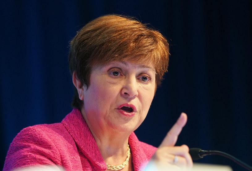 Kristalina Georgieva, dyrektor zarządzająca MFW /Liu Jie/Xinhua News/ /East News