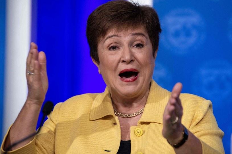 Kristalina Georgiewa, szefowa MFW /AFP