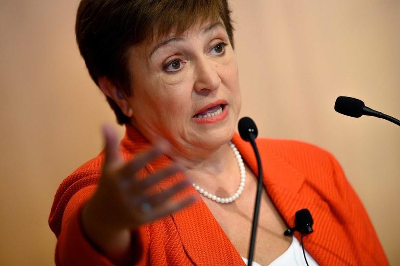 Kristalina Georgiewa, szefowa Międzynarodowego Funduszu Walutowego /AFP