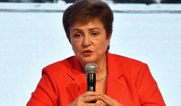 Kristalina Georgiewa /Jalal Morchidi /PAP/EPA