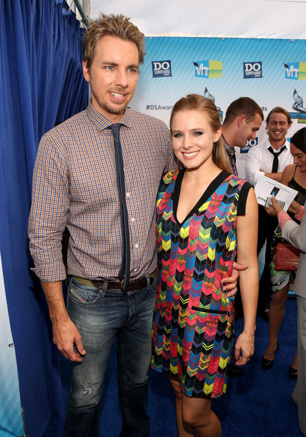 Kristen Bell i Dax Shepard bardzo się cieszą, że zostaną rodzicami /Christopher Polk /Getty Images