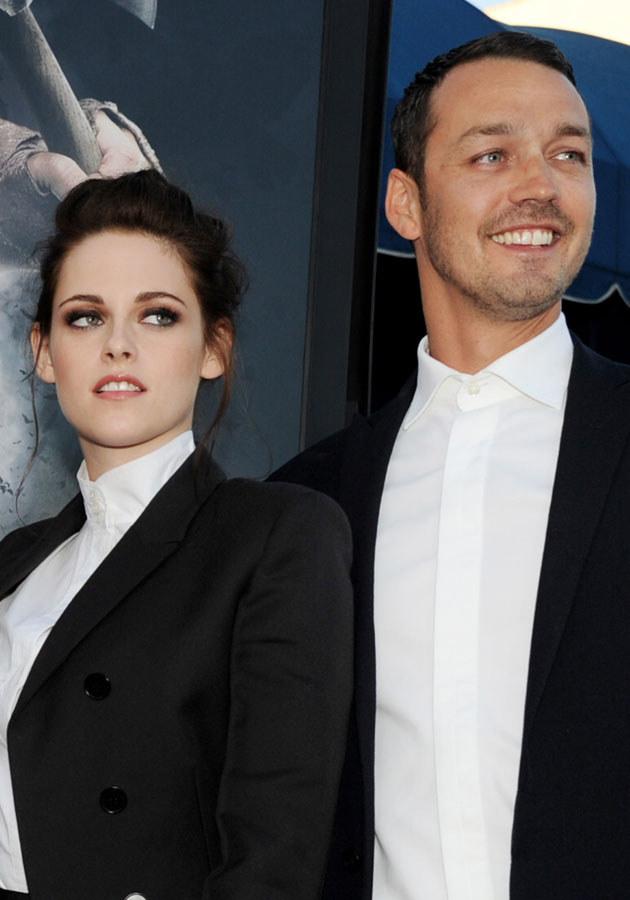 """Kristen i Sanders na premierze """"Królewny Śnieżki i Łowcy"""" /Kevin Winter /Getty Images"""