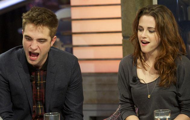 Kristen Stewart i Robert Pattinson /Juan Naharro Gimenez /Getty Images