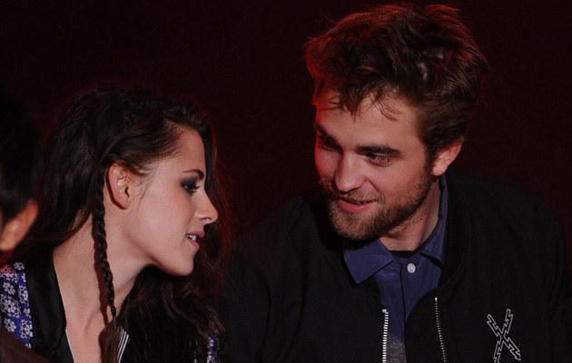 Kristen Stewart i Robert Pattinson /Kevin Winter /Getty Images
