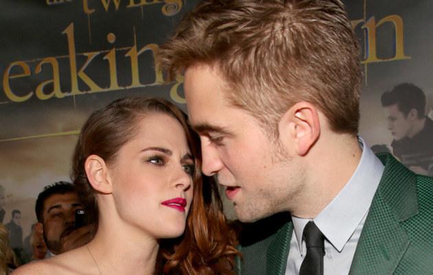 Kristen Stewart i Robert Pattinson /Christopher Polk /Getty Images