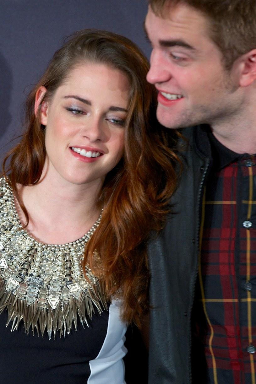 Kristen Stewart i Robert Pattinson /Carlos Alvarez /Getty Images