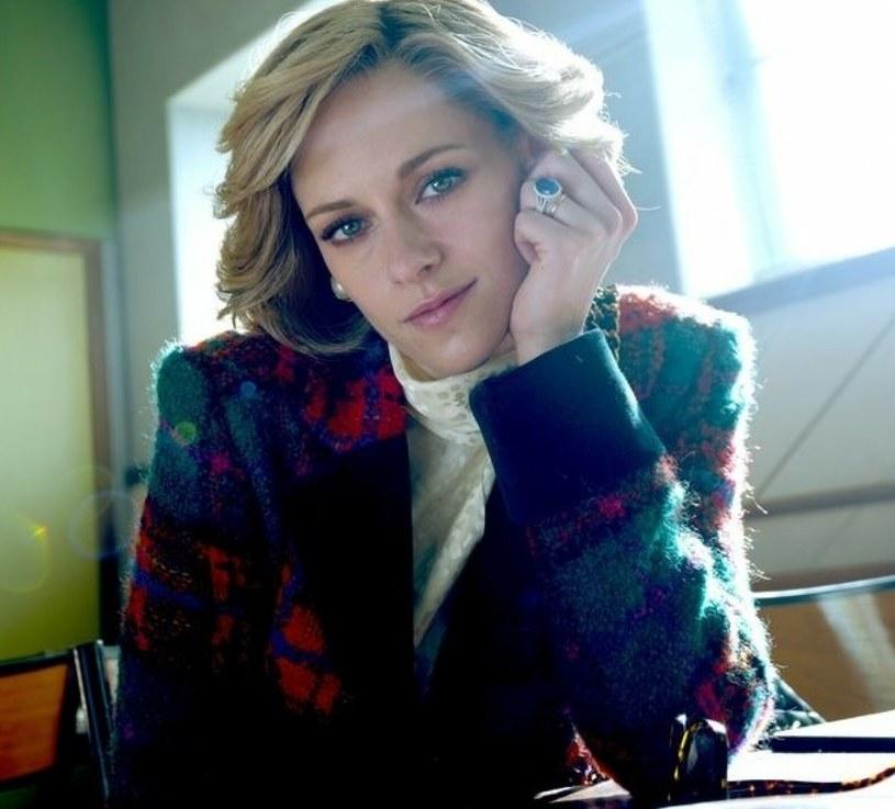 Kristen Stewart jako Diana Spencer /Pablo Larrain/Capital Pictures/East News /East News